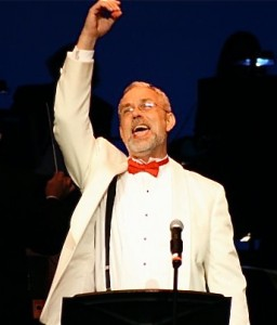 "Yours truly as Benjamin Stone in ""Follies"" at the Prince Music Theater, 2009"